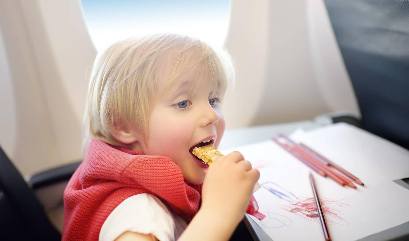 Snacks at the flight